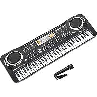 TWFRIC 61 Keys Piano Keyboard Toys, Newest Kids Keyboard Multi-Function Keyboard Musical Instruments