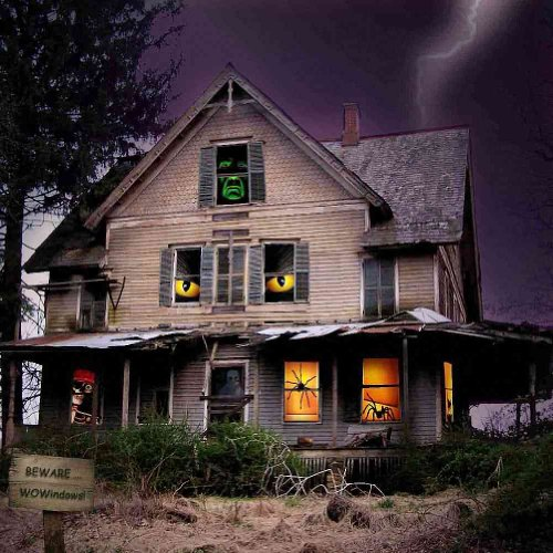 Housing Drop - GladsBuy Haunted House 10' x 10' Computer Printed Photography Backdrop Housing Theme Background ZJZ-504