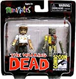 SDCC 2012 Walking Dead Rick and Zombie Minimate 2 Pack