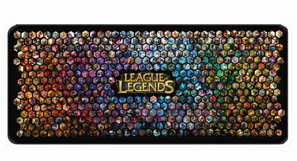 Extra Large League of Legends LoL Super Mouse Pad - 27.5''x11.8''x0.11'' Dimension ibaikal BC77635
