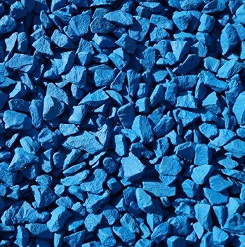 STONED® 1 Kilo Chippings - Pebbles -Stones - Wedding - Garden - Memorial (Premium Blue)