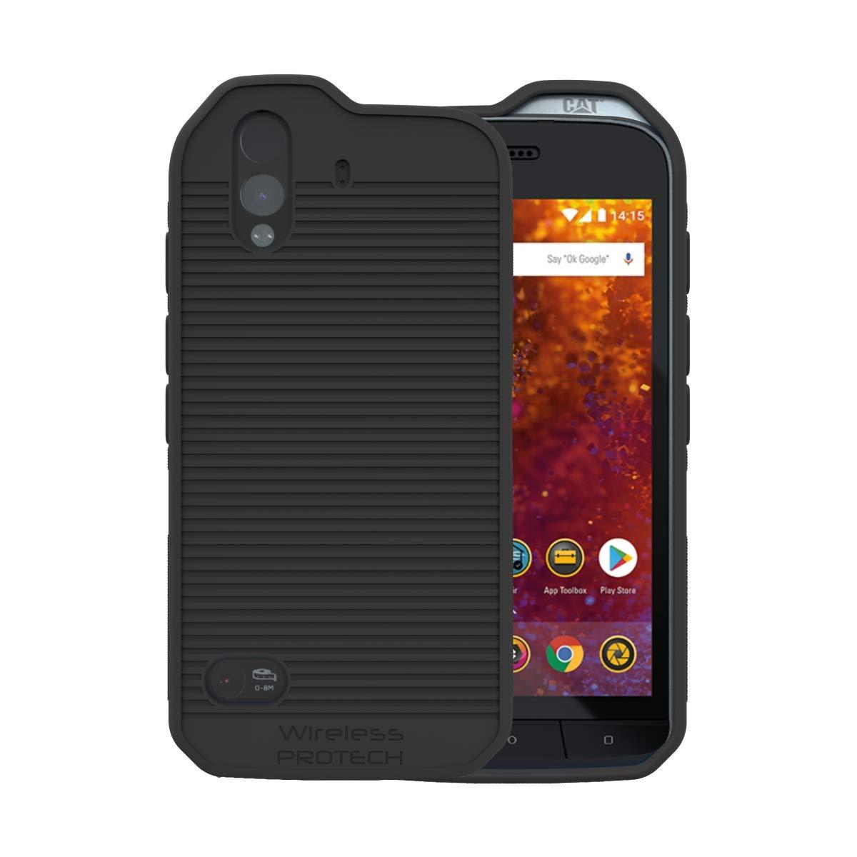 Funda Para Caterpillar Cat S61 Wireless Protech - Negra