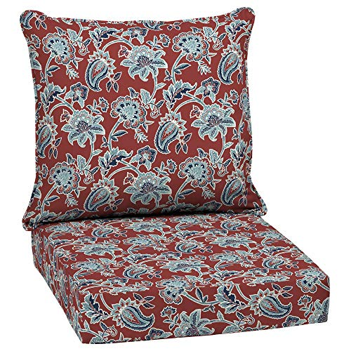 Arden Selections 24 x 24 Caspian 2-Piece Deep Seating Outdoor Lounge Chair Cushion (Arden Outdoor Cushions)