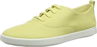 ECCO Women's Low-Top Sneakers, Yellow