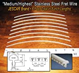 Jescar Stainless Steel fret wire for Guitars and