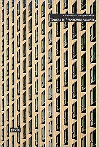 Christoph Mackler Architekten Tower 185 Frankfurt Am Main English