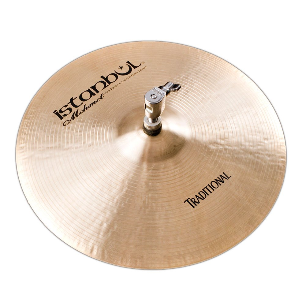 Istanbul Mehmet Cymbals Traditional Series HHM15 15-Inch Medium Hi-Hat Cymbals