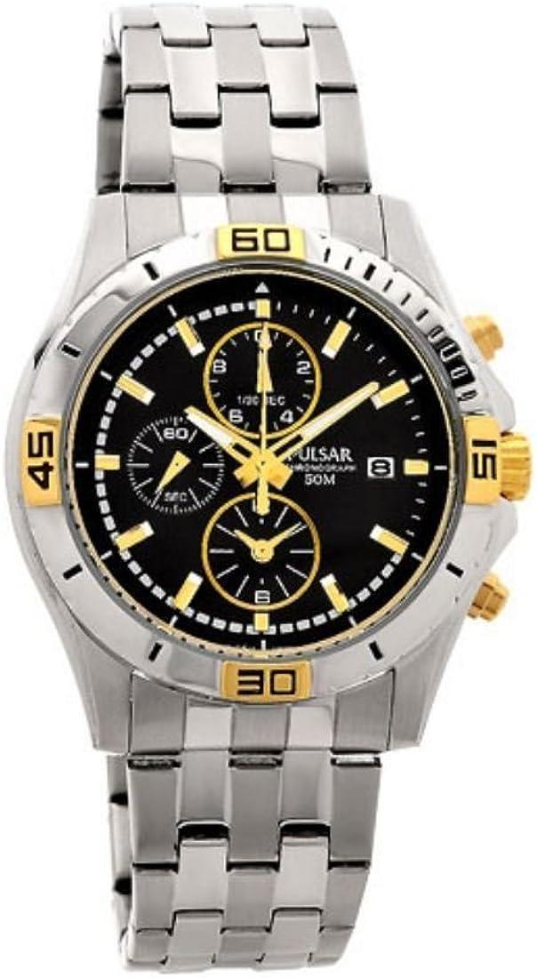 Pulsar Reloj para Hombre de Cuarzo con Correa en Acero Inoxidable PF8398X1