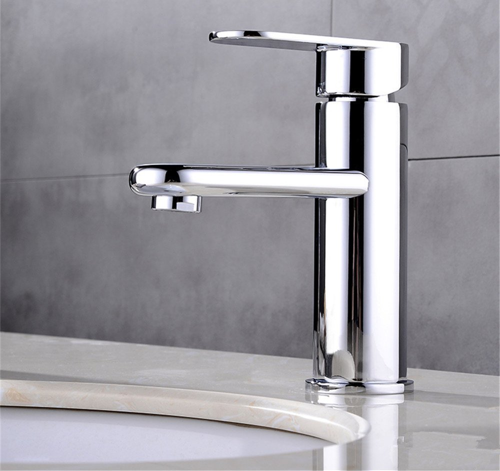 Short Paragraph Pengei Tap Basin Mixer Kitchen Sink Mixer Faucet All Copper Above Counter Basin, Short Section