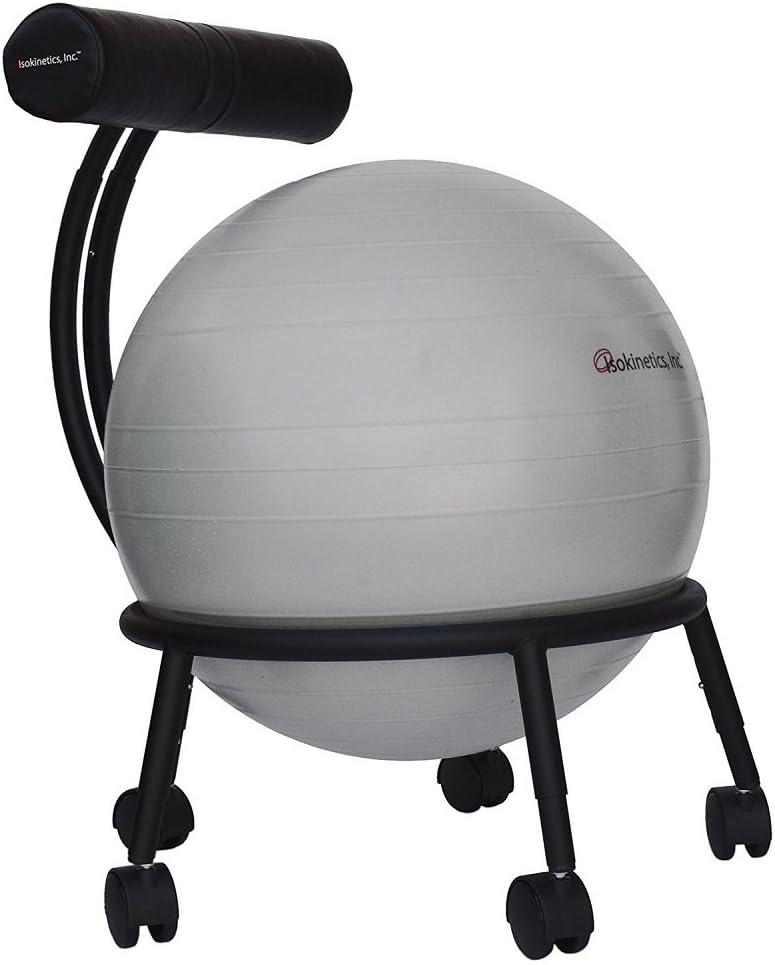 Isokinetics Inc. Brand Adjustable Fitness Ball Chair