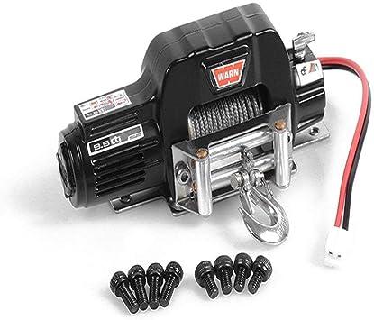 Coche de Escalada Winch, Metal Control El¨¦ctrico Sistema de Control Remoto del Coche Piezas Accesorios para coche para camión 1/10 TRX-4, axial SCX10 ...