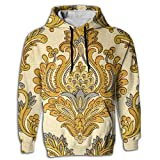 Men's Hoodie Fashion Pullover Waterproof Egyptian Persian Traditional Athletic
