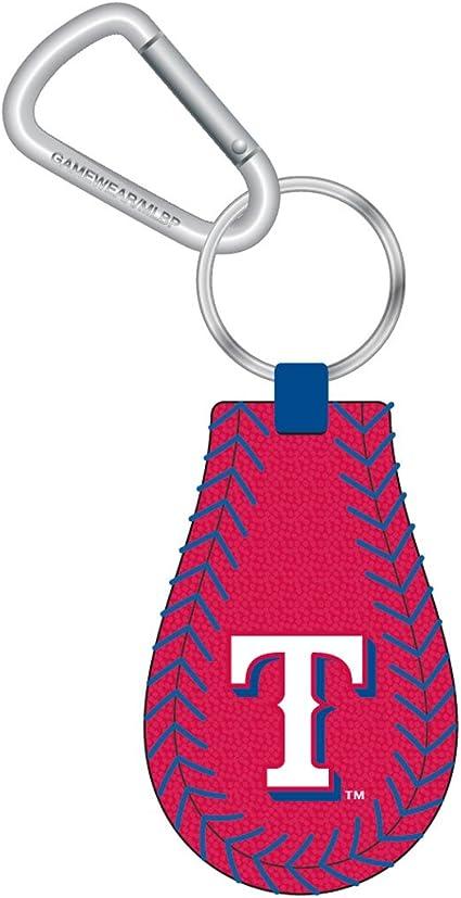 really cute keychains RANGERS BASEBALL Key Fob