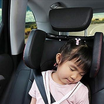 BBINHAN Coche Reposacabezas Reposacabezas Almohada del Cuello del Coche Ropa De Dormir Plegable Soporte para El Cuello En El Coche para Adultos Y Ni/ños