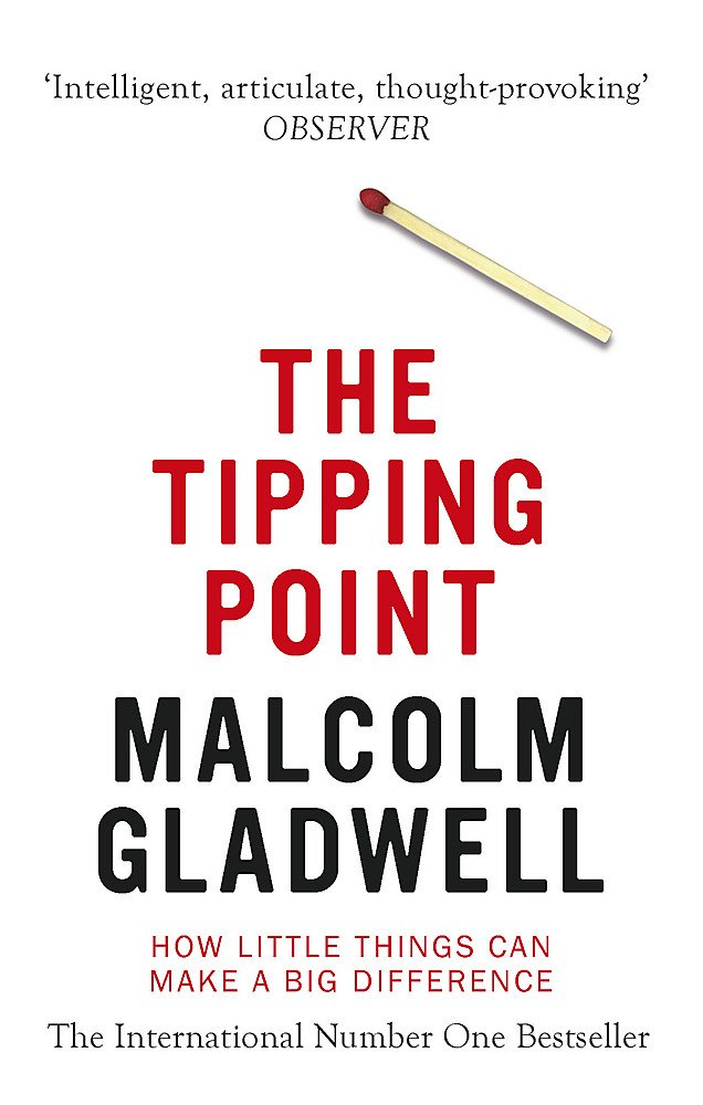 The Tipping Point by Malcolm Gladwell Book online