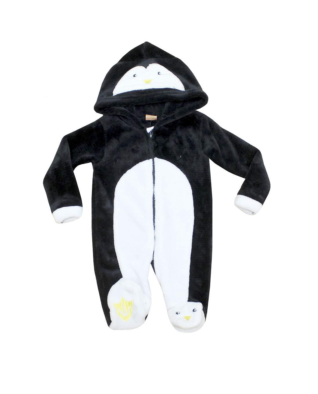 da9e7c7e5 Novelty Baby Hooded Fleece Romper Snowsuit Infant Onesies Jumpsuit