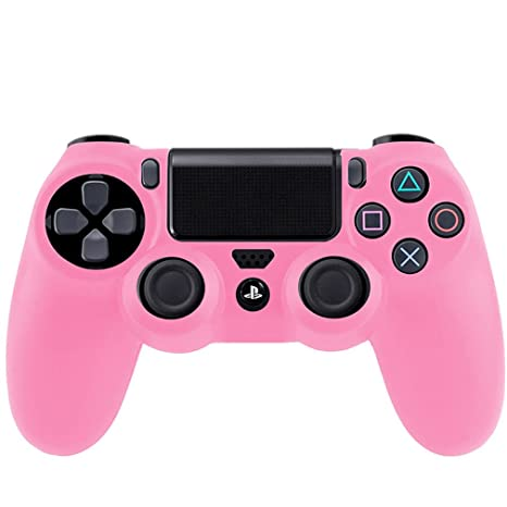 joistik per ps 4  SMARDY Silicone Case Custodia Protettiva Rosa per Playstation 4 PS4 ...