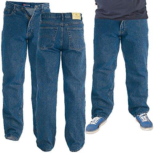 "Herren Rockford Stonewashed Jeans (40"" Taille 34""Leg)"