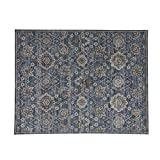 Cheap Gertmenian 21402 Big Persian Carpet Contemporary Oriental Rug, 12′ x 15′ XX Large, Distressed Vintage Blue