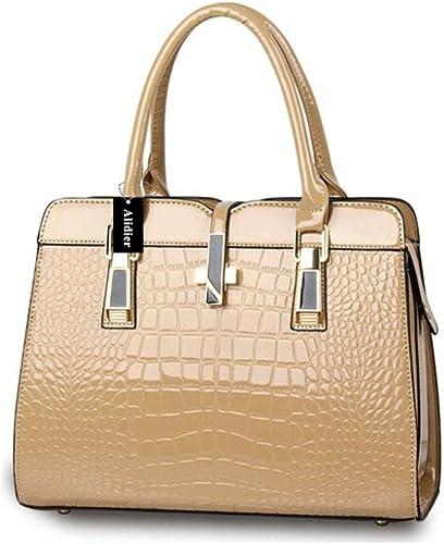 Alidier Nouvelle marque et haute qualité Mode Sac à Main Sacoche Bandoulière Epaule Croisé Femme Shopping OL
