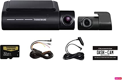 Amazon.com: THINKWARE F800 Pro 2 canales HD Dash cámara ...