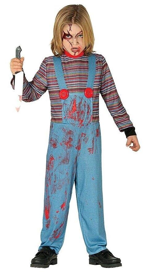 Fancy Dress Queen Disfraz de Chucky para niños: Amazon.es ...