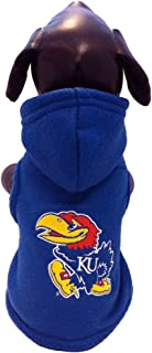 product image for NCAA Kansas Jayhawks Polar Fleece Hooded Dog Jacket