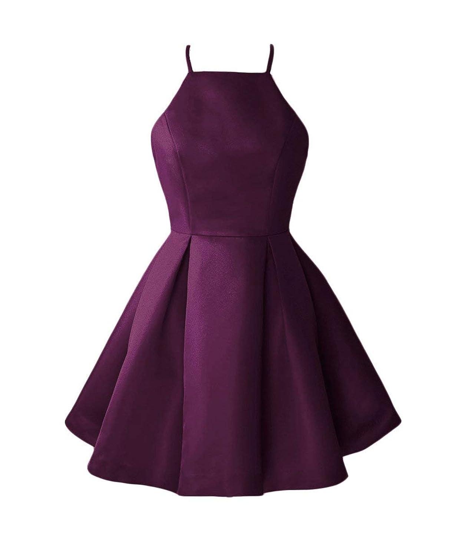 Bplum WHZZ Womens ALine Homecoming Dresses Mini Short Cocktail Party Dresses