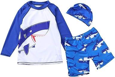 Kids Swimsuit Kid Swimwear Beach Trunks Bathers Long Sleeve Boys Fashion