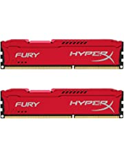 HyperX HX318C10FRK2/16 FURY Red, 16 GB, 1866 MHz DDR3 CL10 DIMM (Kit of 2)