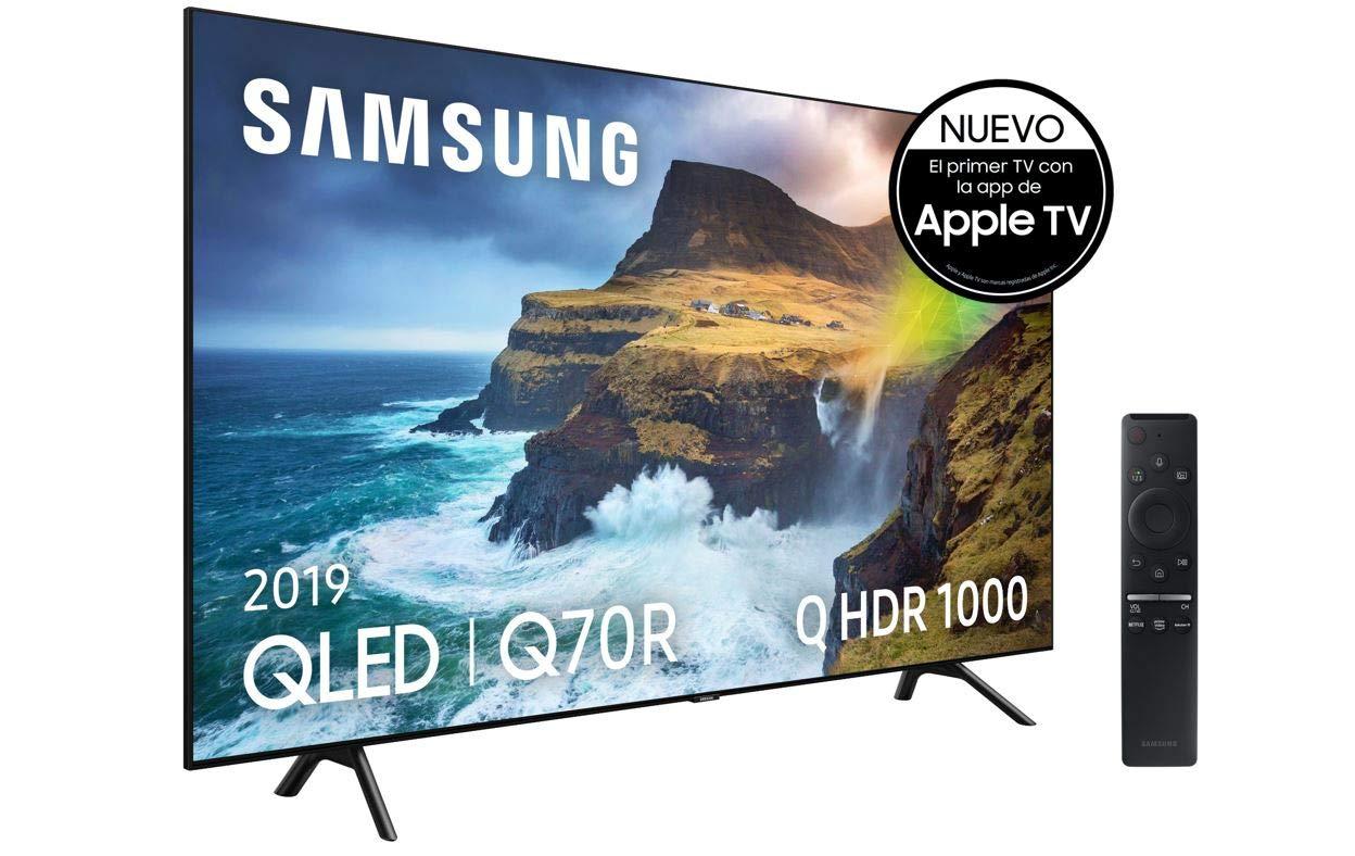 Q HDR 1000 Smart TV de 49 con Resoluci/ón 4K UHD Apps exclusivas y Compatible con Alexa Direct Full Array One Remote Control Samsung QLED 4K 2019 49Q70R Inteligencia Artificial 4K