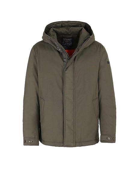 teton rudder jacket  Woolrich Giubbino Uomo wocps2608 tc60 614 Teton Rudder Green Jacket ...