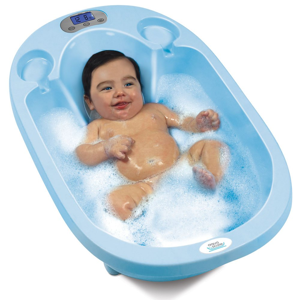 Amazon.com : Aqua Scale 3-in-1 Baby Bath Tub, Scale and Water ...