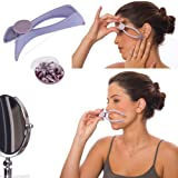 D PEX Slique Eyebrow/Face/Body Hair Threading And Removal System (Purple)