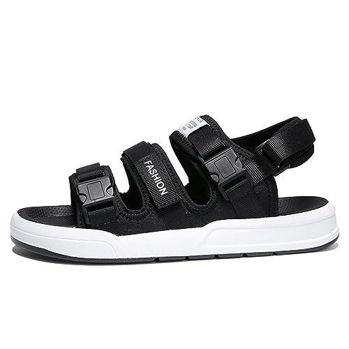 74cc1df5d94 Homme Chaussure Sandale de Basket Mode Multisport de Mer Plage Chaussure  Basse Casual Confortable Noir 39