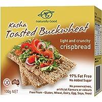 Naturally Good Kasha Buckwheat Crispbread, 100 Count