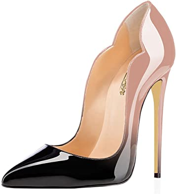 Women/'s Pumps Sandals High Stiletto Heels Leather Pointed Toe  Party Shoes Night