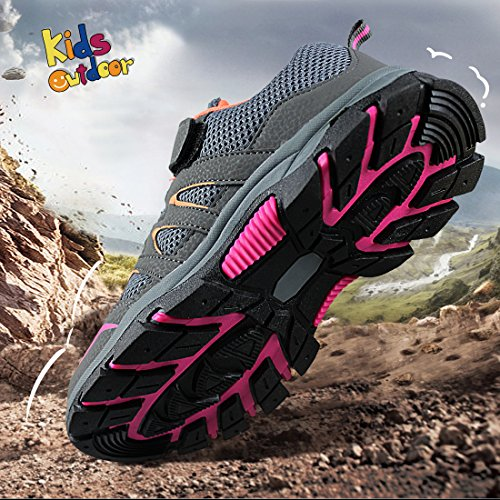 Toddler//Little Kid//Big Kid Hawkwell Kids Outdoor Hiking Shoe ST1836