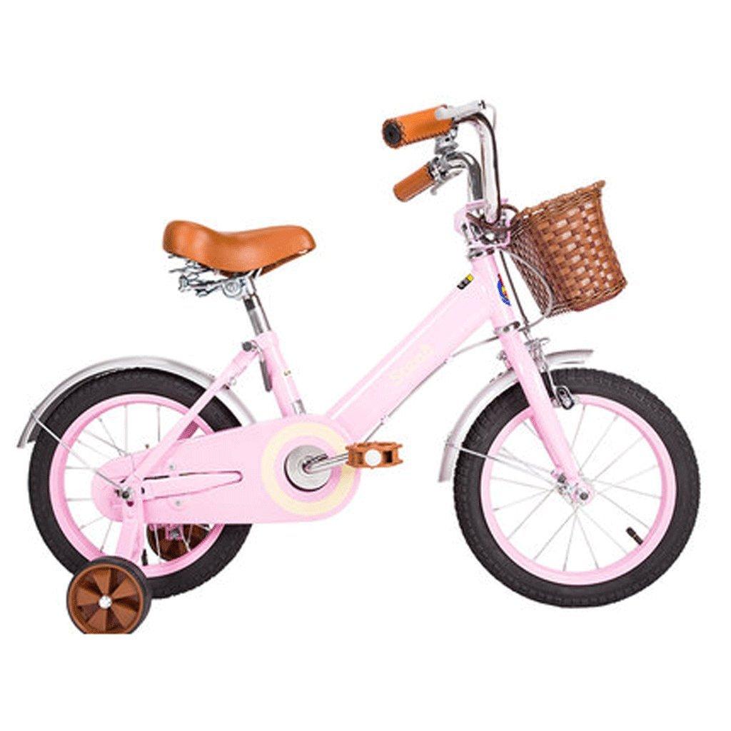 自転車 子供の自転車16/14/12/18インチの女の子の自転車2-4-5歳の赤ちゃんの少女の赤ちゃんキャリッジ (サイズ さいず : 16inch) B07DPN4SPW16inch