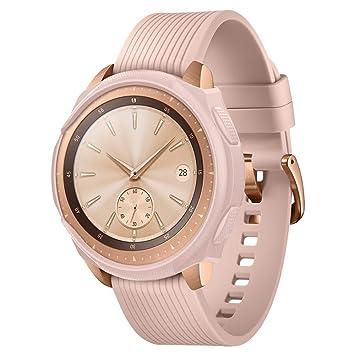 spigen Galaxy Watch Funda, Liquid Air Armor diseñado para Samsung Galaxy Watch 42mm (2018) Case - Rose Gold