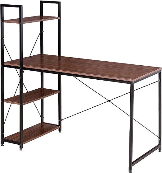 WOLTU Escritorio Escritorio de Computadora Muebles de Oficina Mesa ...