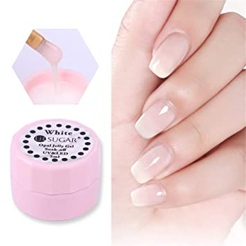 Amazon Com Ur Sugar 5ml Opal Jelly Gel Nail Polish Semi Transparent