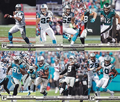 Carolina Panthers 2018 Panini NFL Football Complete Mint 12 Card Team Set with Cam Newton, Greg Olsen, Christian McCaffrey plus