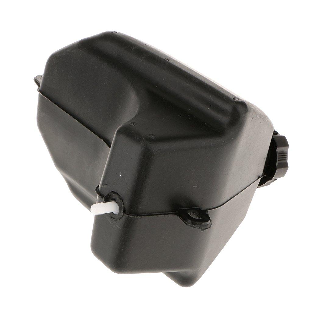 Mini Plastic ATV Bike Gas Petrol Fuel Tank with cap for 50cc 70cc 90cc 110b