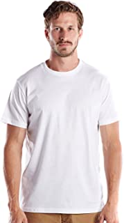 product image for US Blanks Men's Premium Short Sleeve, Pure Cotton, Crew Neck, Made in USA