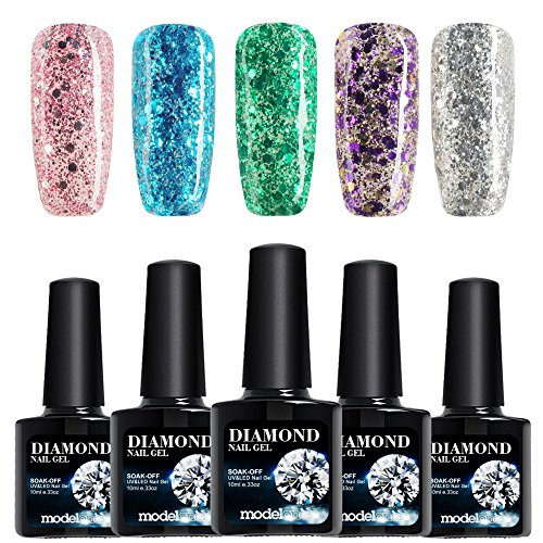 Modelones Glitter Polish Soak Colors product image