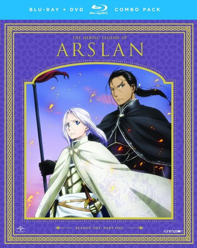 Blu-ray : The Heroic Legend of Arslan: Season One Part One (With DVD, Boxed Set, 4 Disc)