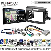 Volunteer Audio Kenwood Excelon DNX994S Double Din Radio Install Kit with GPS Navigation Apple CarPlay Android Auto Fits 1990-1997 Honda Accord, 1990-2001 Acura Integra