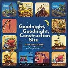 17799bee411 Goodnight, Goodnight, Construction Site Matching Game: Sherri Duskey  Rinker, Tom Lichtenheld: 9781452111063: Amazon.com: Books