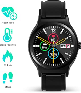 Smartwatch Hombre Mujer Reloj Inteligente Deportivo Tracker de ...